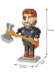 Конструктор Wisehawk & LNO Тор 357 деталей NO. 2573 Thor Gift Series