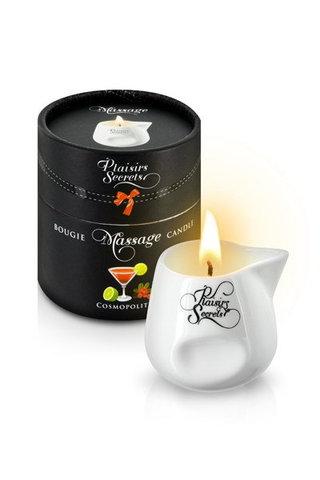 MASSAGE CANDLE COSMOPOLITAN 80ML Свеча с массажным маслом Коктель COSMOPOLITAN (лимонно-клюквенный) 80 мл