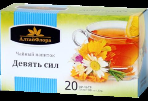 """Чай травяной алтайский """"Девять сил"""""""