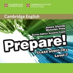 Cambridge English Prepare! Level 7 Class Audio ...