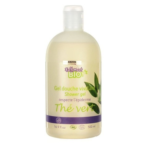 Гель для душа с зеленым чаем, Gel douche vivifiant shower gel respecte L'epiderme The Vert, Kosmoteros (Космотерос), 500 мл