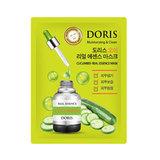 Тканевая маска для лица с экстрактом огурца Doris