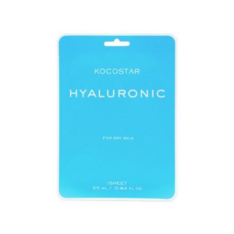 Kocostar Маска для увлажнения сухой и чувствительной кожи с Гиалуроновой кислотой/ Hyaluronic mask, 1 шт