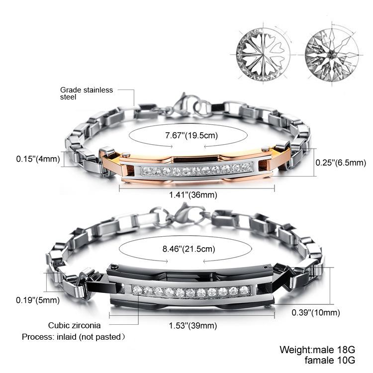 Парные браслеты Steelman pu00022