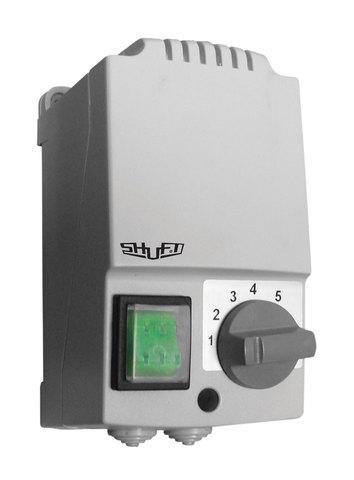 Регулятор скорости Shuft SRE-E-1,5-T однофазный пятиступенчатый с термозащитой