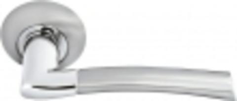 Ручка дверная MH-06 SN/CP