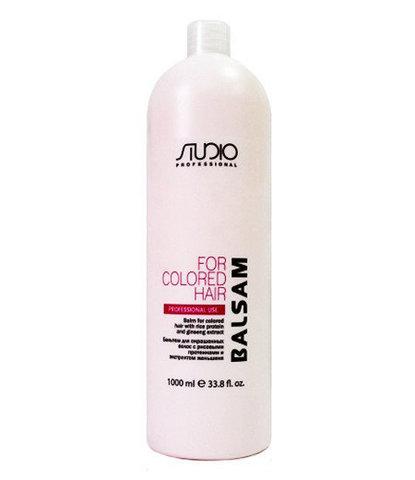 Kapous, Бальзам для окрашенных волос с рисовыми протеинами и экстрактом женьшеня