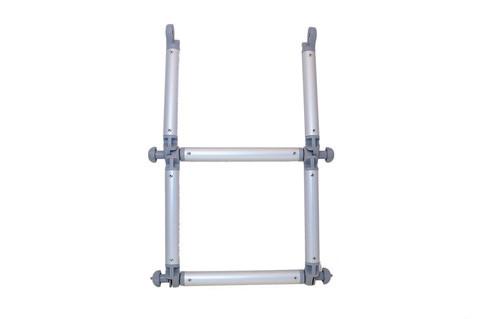 Удлинитель лестницы складной El032, Ø 32 мм, серая