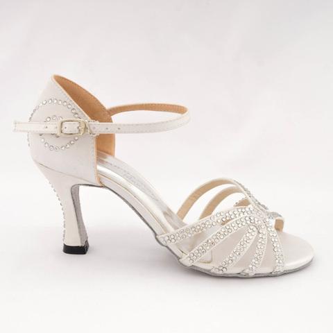 Туфли для танцев со стразами