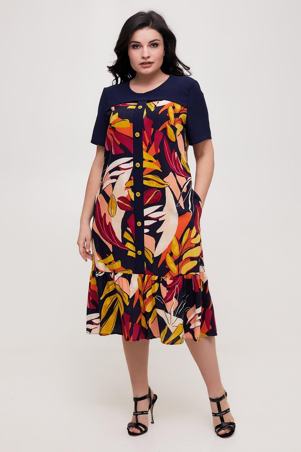 Сукня Селин (темно-синій)
