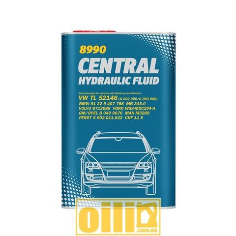Mannol 8990 CENTRAL HYDRAULIC FLUID 1л