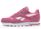 Кроссовки Женские Reebok Classic Leather Pink Suede