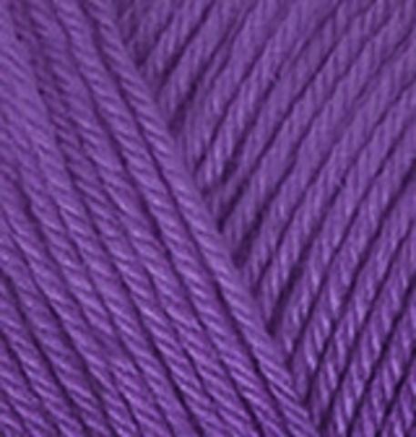 Пряжа Diva Plus Alize 475 фиолетовый, фото