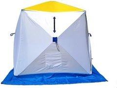 Палатка для зимней рыбалки Стэк Куб-3 трехслойная (дышащий верх)