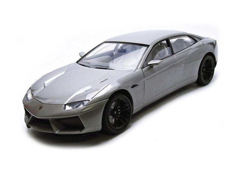 Коллекционная модель Lamborghini Estoque 2008 Grey