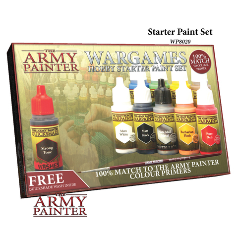 War Paints: Starter Paint Set
