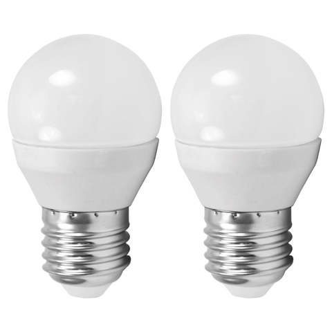 Лампа (комплект 2 шт.) Eglo LED LM-LED-E27 2X4W 320Lm 3000K G45 10777