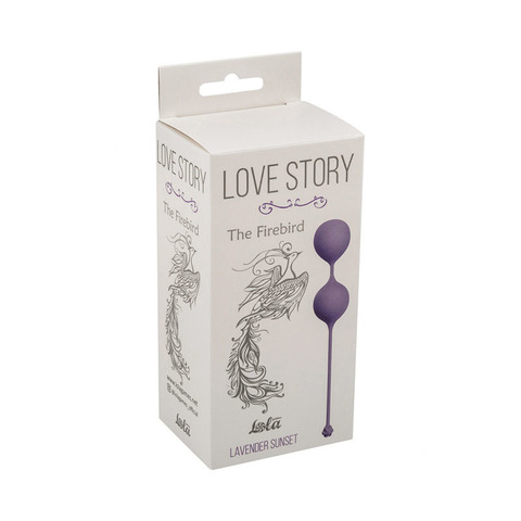 Вагинальные шарики Lola Love Story The Firebird Lavender Sunset