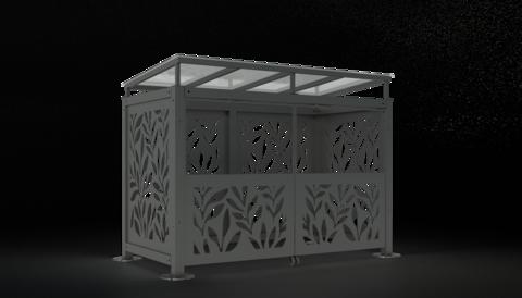 Навес для мусорного контейнера NVS0034