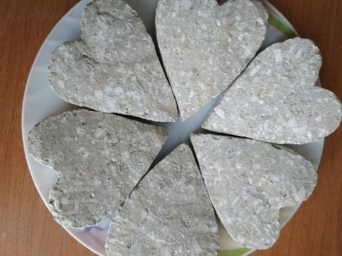 Сердце с глиной Фисташка
