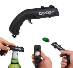 Открывалка для бутылок «Пистолет» черный, фото 2