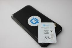 Комплект для Samsung Galaxy Note 3: беспроводная зарядка Qi + приемник-ресивер Qi
