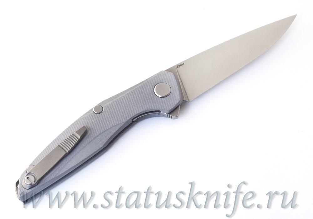 Нож Широгоров 111 Elmax G10 3D Light Gray MRBS - фотография