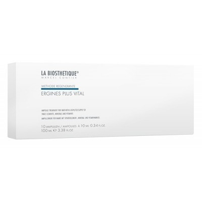 La Biosthetique Methode Regenerante: Сыворотка питательная для укрепления волос (Ergines Plus Vital), 10амп.
