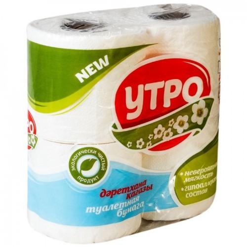 Туалетная бумага Утро 4 р
