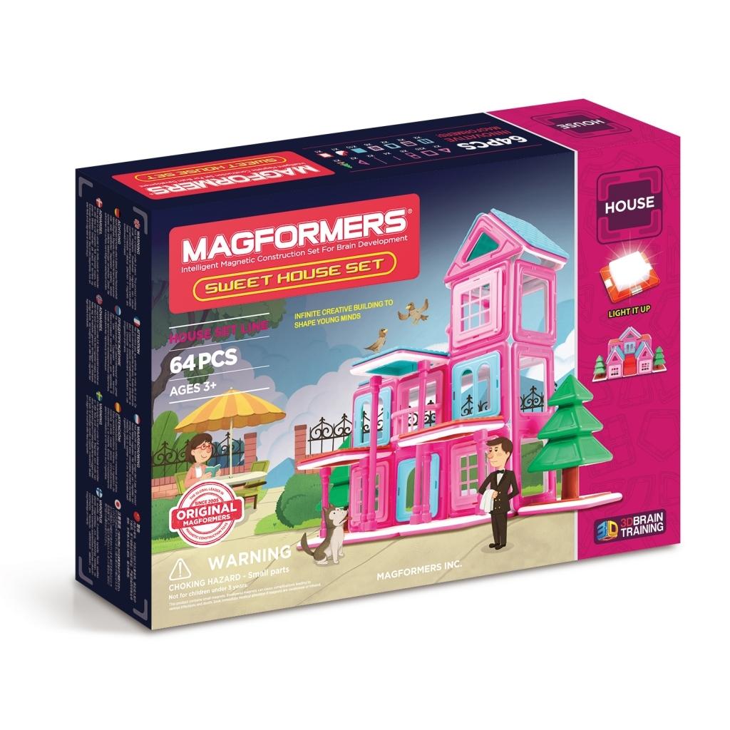 Магнитный конструктор Magformers Sweet House Set