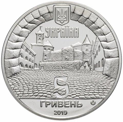 5 гривен. Замок Паланок. 2019 г. Proof