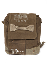 Рюкзак Secret De Maison RIO DE JANEIRO ( mod. M-11226 ) — хаки (ткань: винтаж)