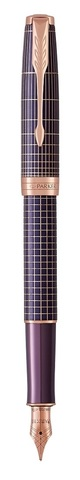 Перьевая ручка Parker Sonnet , Cisele Purple PGT, перо: F123