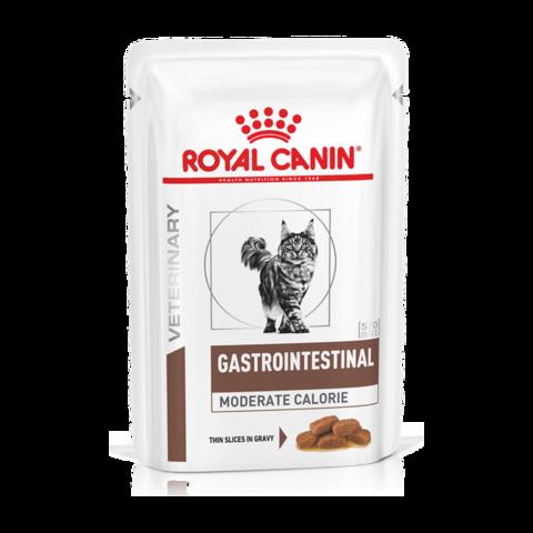 Royal Canin Gastro Intestinal Moderate Calorie GI Консервы для кошек при нарушении пищеварения с умеренным содержанием энергии (Пауч)