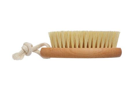 YOZHIK Щётка для сухого массажа (класс М компакт, натуральное волокно тампико) фото 3