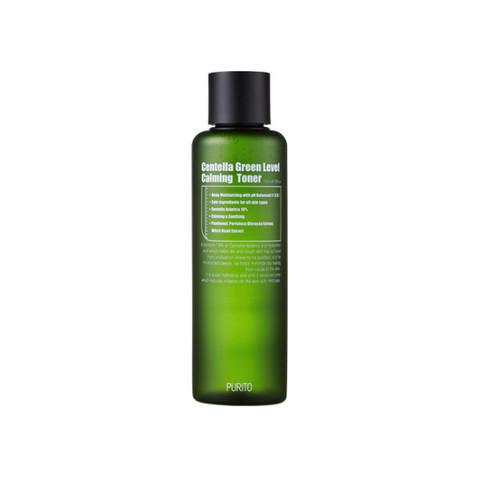 Purito Тонер для лица Centella Green Level Calming Toner, 200 мл
