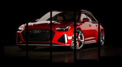"Модульная картина ""Audi RS6"""