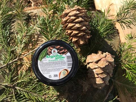Кедровые орешки в сосновом меду. 100 гр.