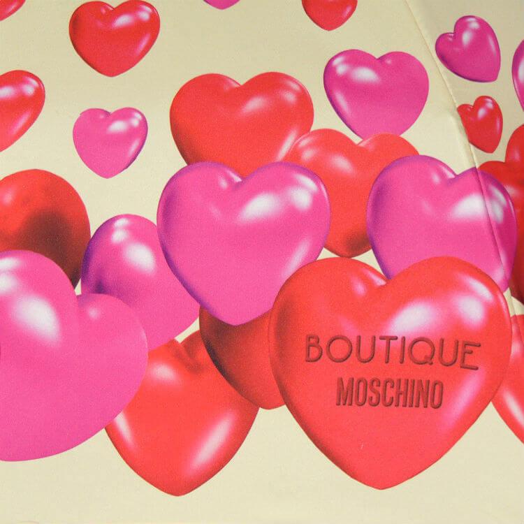 Зонт складной Moschino Boutique 7275-I-RUBBER HERTS