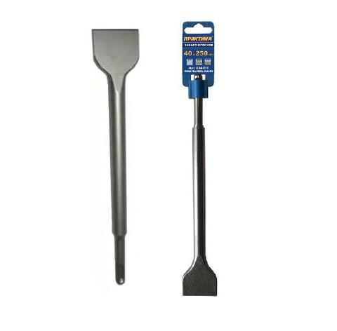 Зубило   SDS-plus плоское ПРАКТИКА 40 х 250 мм  (034-137)