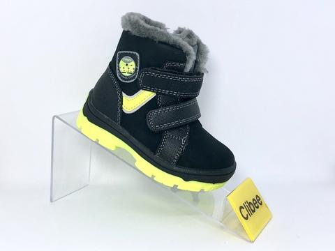 Clibee (зима) H164 Black/Green 20-25