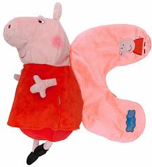 Peppa Pig 2in1 Reversible Travel Pillow and Plush Toy