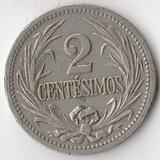 K8344, 1901, Уругвай, 2 сентесимо