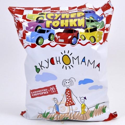 "Кукурузные палочки ""Супер гонки"" с игрушкой Вкусномама, 65г"