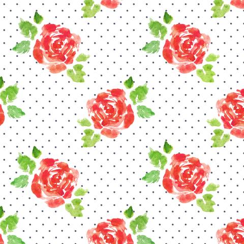 розы и горошки