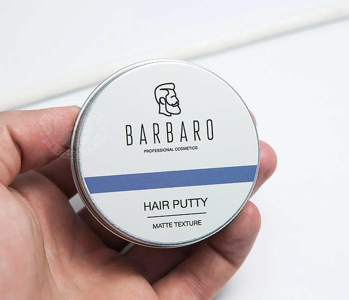 RAZ1051 Матовая мастика паста «Barbaro» для укладки волос (60 гр) фото 04