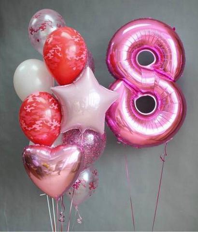8 марта нежно розовое
