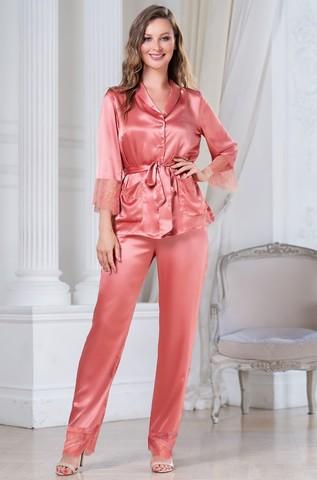 Шелковая пижама-тройка Mia Amore Sharon (70% нат.шелк)