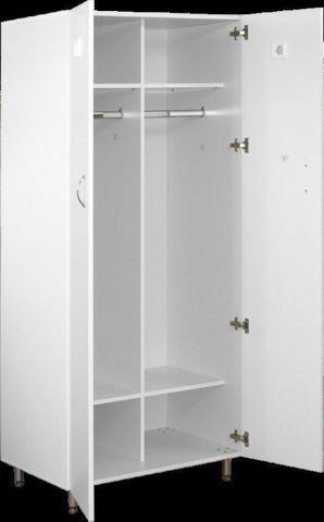 Шкаф медицинский для спецодежды ШМСО-01  (мод.1) - фото