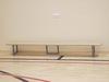 Скамейка гимнастическая на металлических ножках 3.5м (массив дерева).
